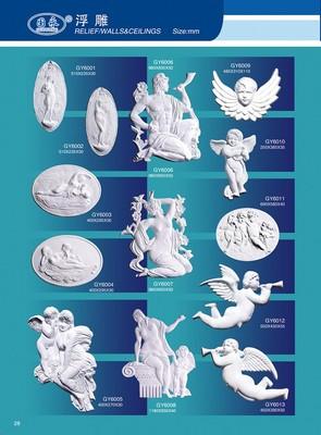 国永石膏33-浮雕